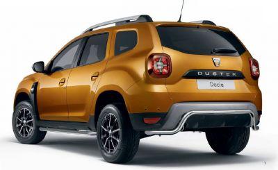 Duster II (2018-2020) - Barra di protezione posteriore (Dacia Original)