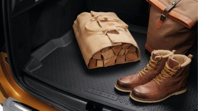 Duster II 4x4 (2018-2021) - Boot protection tray (Dacia Original)
