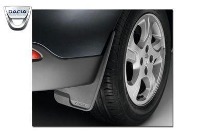 Sandero II (2012-présent) - Bavettes ensemble Avant et Arrière (Dacia Original)