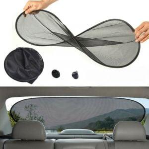 Plegable parasol para parabrezza posteriore
