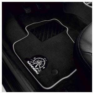 Sandero II (2012-presente) - Esteras del piso textil Aventure (Dacia Original)