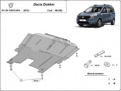 Dokker - Engine metal shield