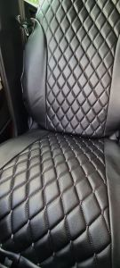 Duster II (2018-2020) - Seat covers Luxurious Style- Black Leather