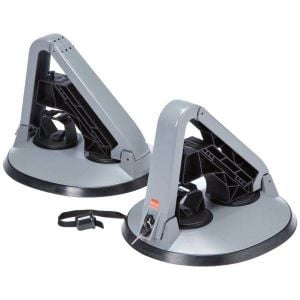 Support ski et snowboard Fabbri Kolumbus Ski & Board avec grip magnétique, 2 paires de skis / 2 snowboards