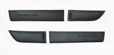 Duster II (2018-2021) - Side protection mouldings set with LOGO