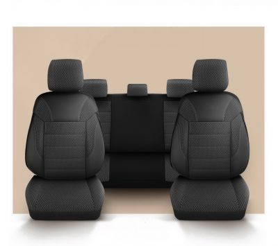 Sandero III / Sandero II - Seat covers Classic Chic - tailor made for Sandero