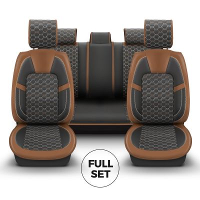 Sandero III - Limited Edition Seat covers Premium Leather - tailor made for Sandero