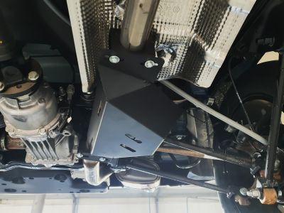 Duster II (2018-2021) with AdBlue - EGR metal shield