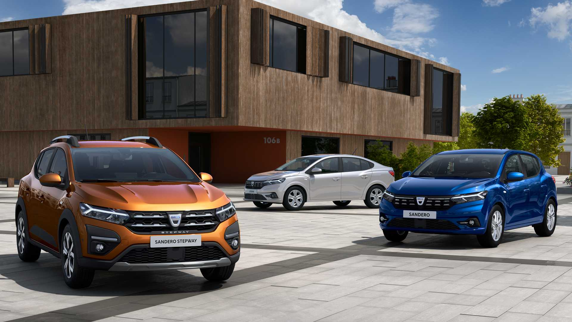 2021 Dacia Sandero And Logan – First Official Images